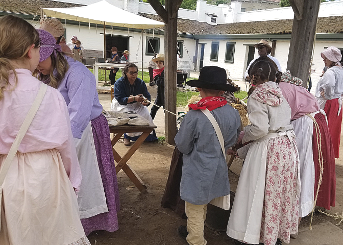 Back to School at Sutter's Fort