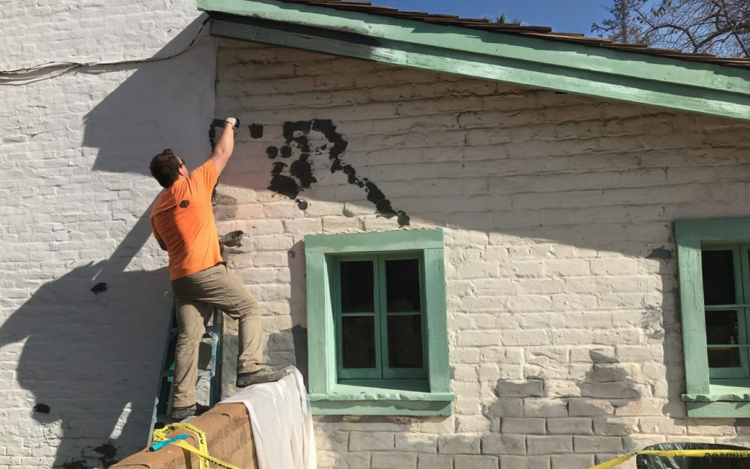 Painting Project Brings New Look and Protection to Sutter's Fort