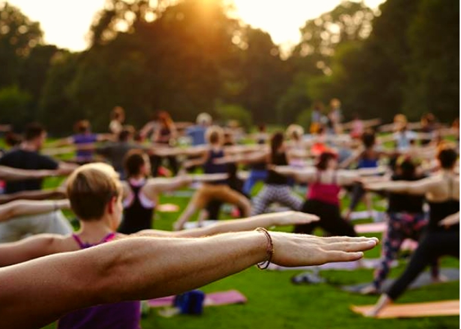 Free Yoga at the Park