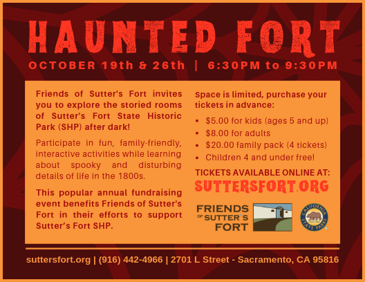 Haunted Fort 2019 BACK